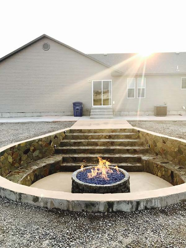 Diy Fireplace Outdoor