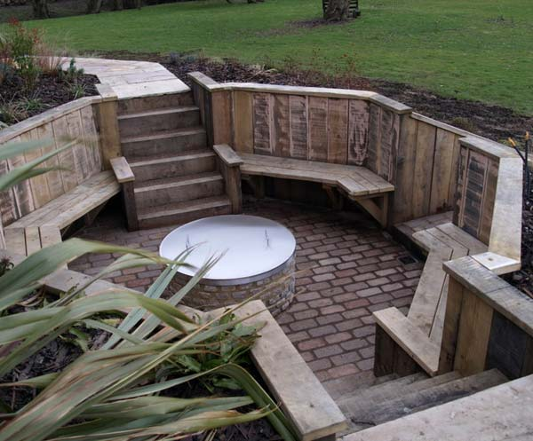 21 Awesome Sunken Fire Pit Ideas To Steal For Cozy Nights Amazing Diy Interior Home Design