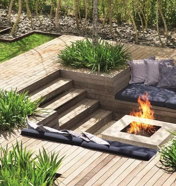 Diy Fireplace Seating