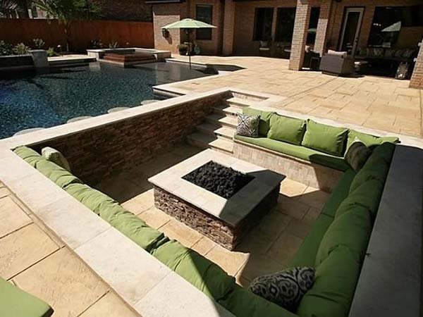 21 Awesome Sunken Fire Pit Ideas To Steal For Cozy Nights Amazing Diy Interior Amp Home Design