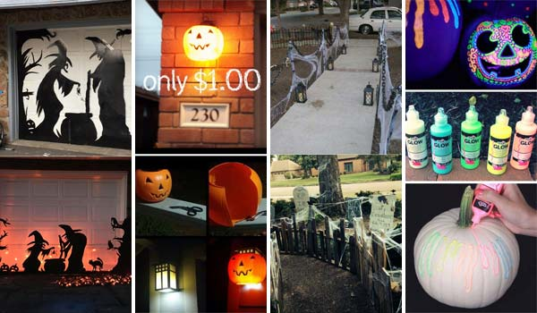 38 Cool and Cheap DIY Halloween Projects Will Give Your Guests A Fright
