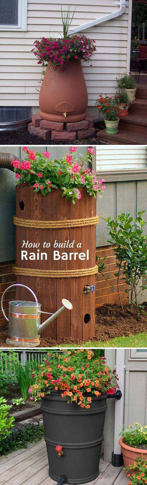The Best 20 DIY Ideas to Create a Decorative Downspout Landscape ...