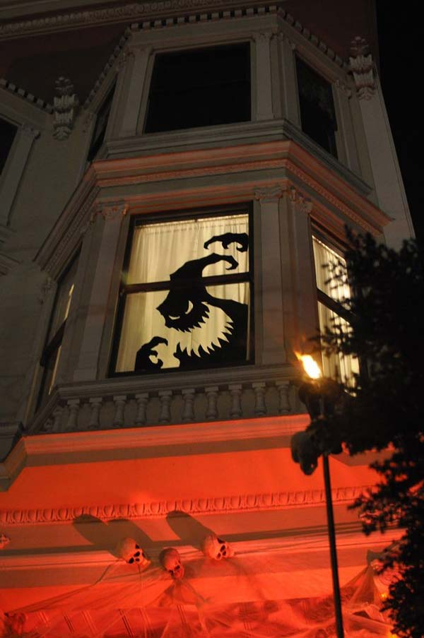 Halloween Window Decorations: 38 Cool And Cheap DIY Halloween Projects Will Give Your