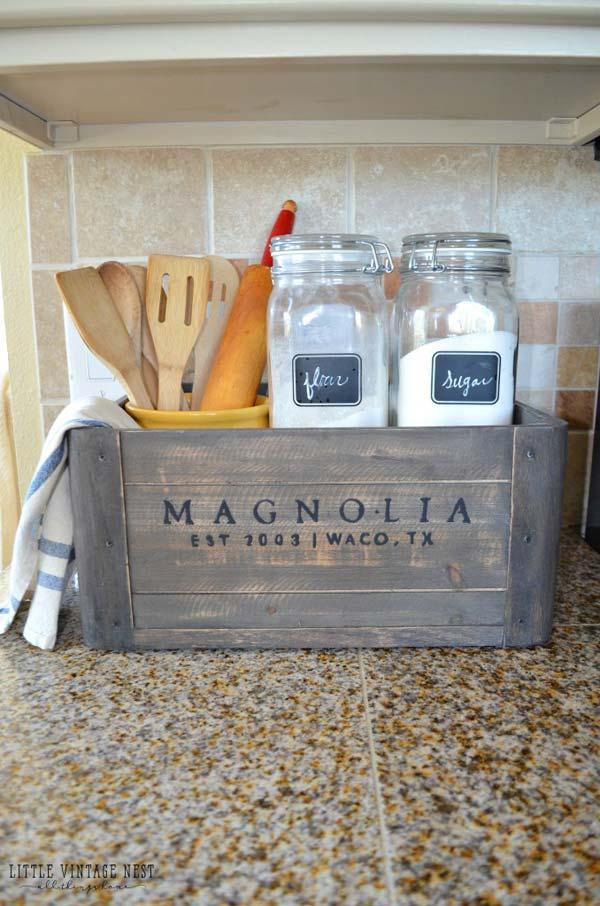 Farmhouse Style Storage Ideas: 22 Farmhouse-Inspired Kitchen Storage Ideas
