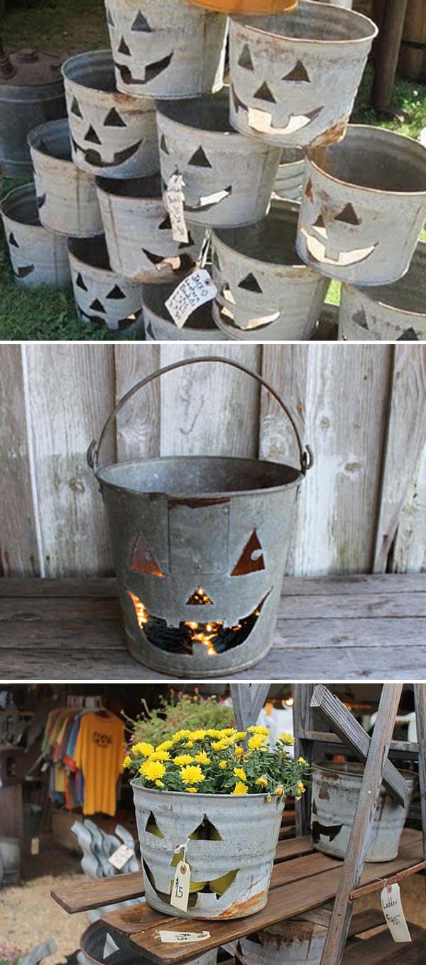 Creative Ideas To Use Galvanized Buckets In Holiday Decor Amazing Diy Interior Home Design