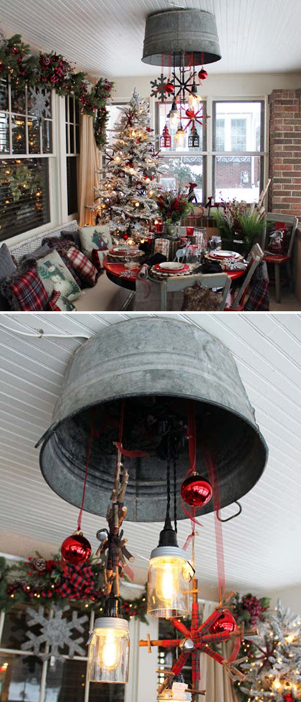 Creative Ideas to Use Galvanized Buckets in Holiday Decor ...