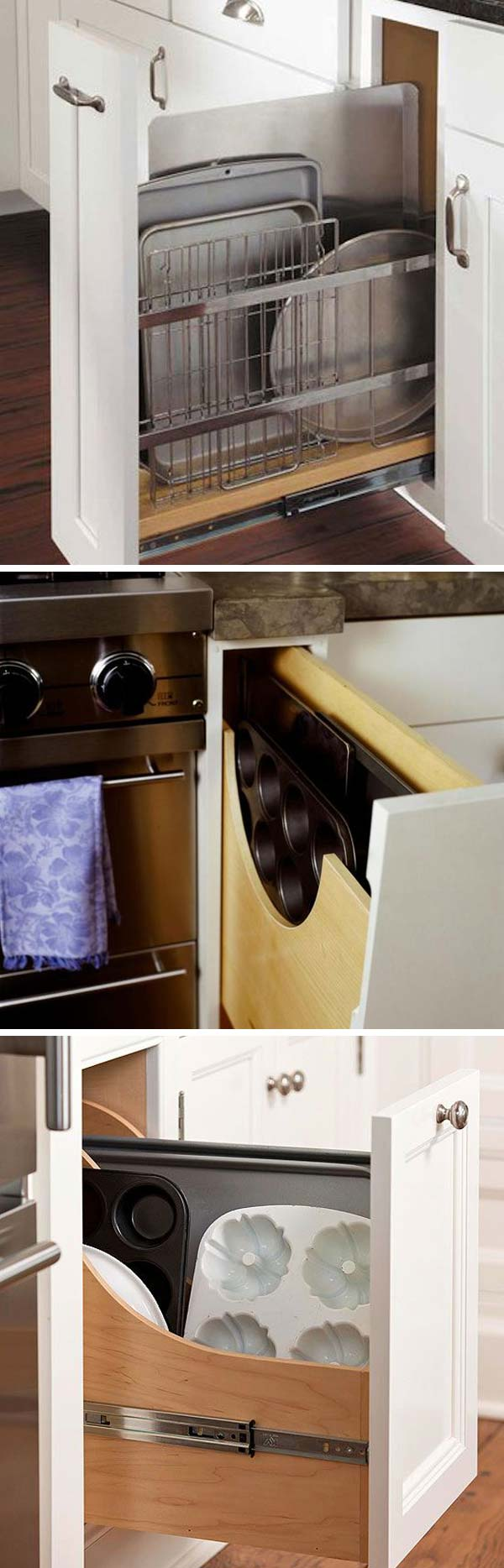 Kitchen Cupboard Organization Hacks