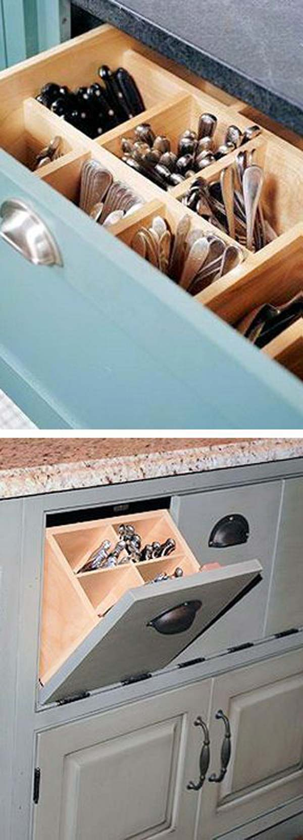 15 Easy and Clever Hacks to Organize Kitchen Cabinets - Amazing DIY ...
