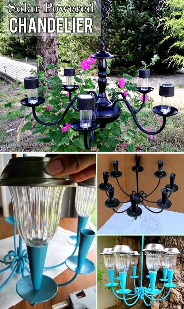 20 Cool And Easy Diy Ideas To Display Your Solar Lighting