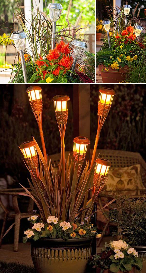Cool And Easy Diy Ideas Display Your Solar Lighting