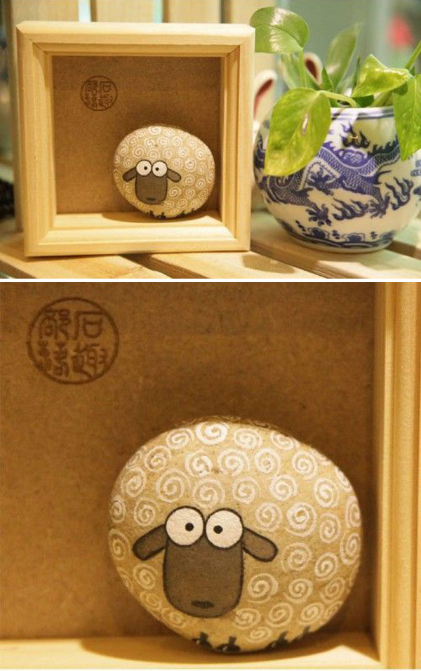 Diy Painted Stone Decorations You Can Do Amazing Diy Interior Home Design
