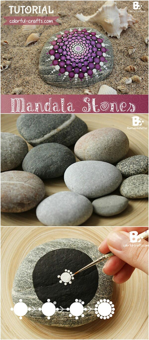 DIY Painted Stone Decorations You Can Do