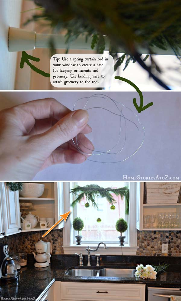 Genius Hacks To Make Hanging Christmas Decorations Awesome
