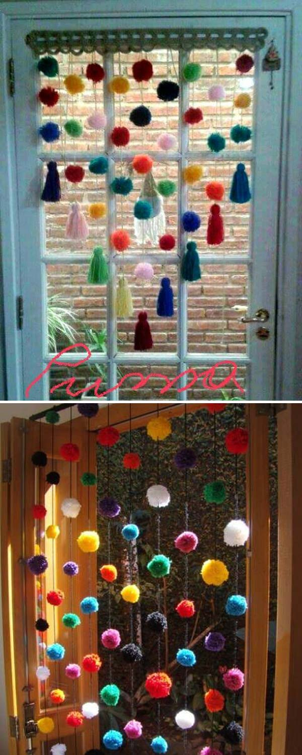 Playful Ball Curtain