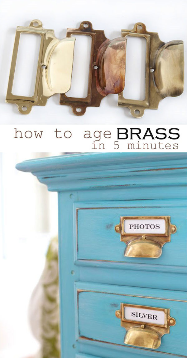 How To Age Brass in 5 Minutes