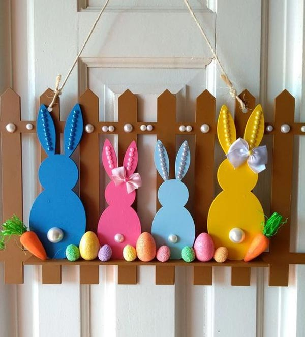 hanging bunny grouping
