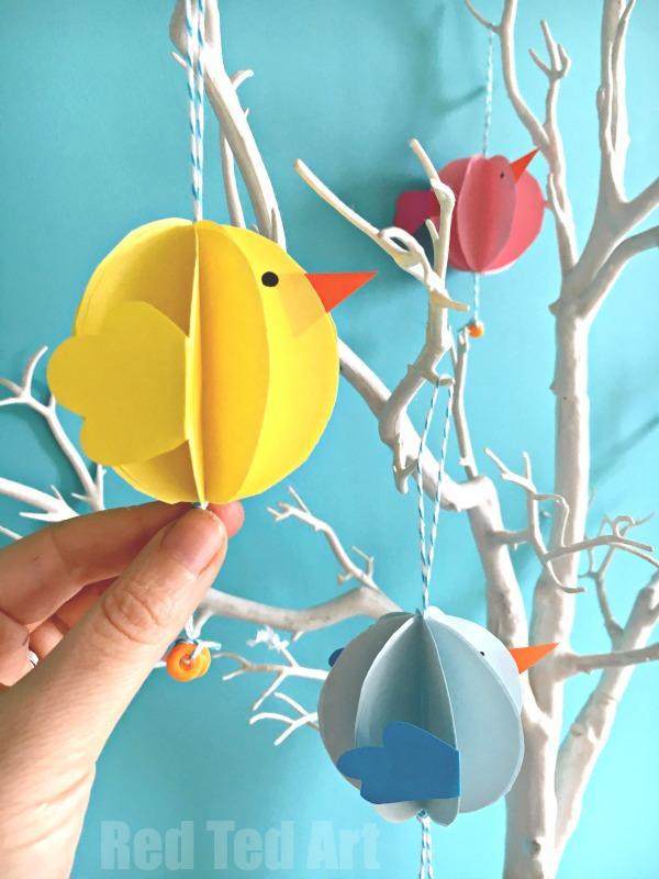 paper chick craft