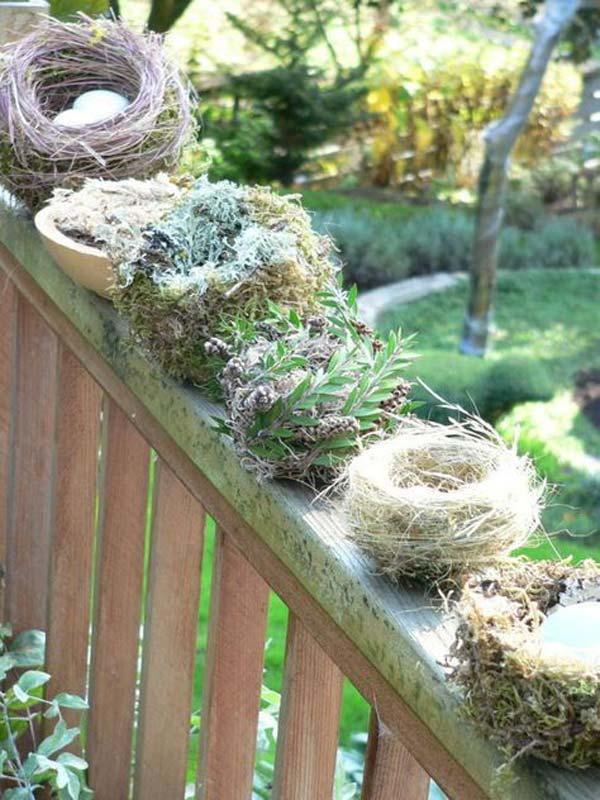 Making realistic bird's nest