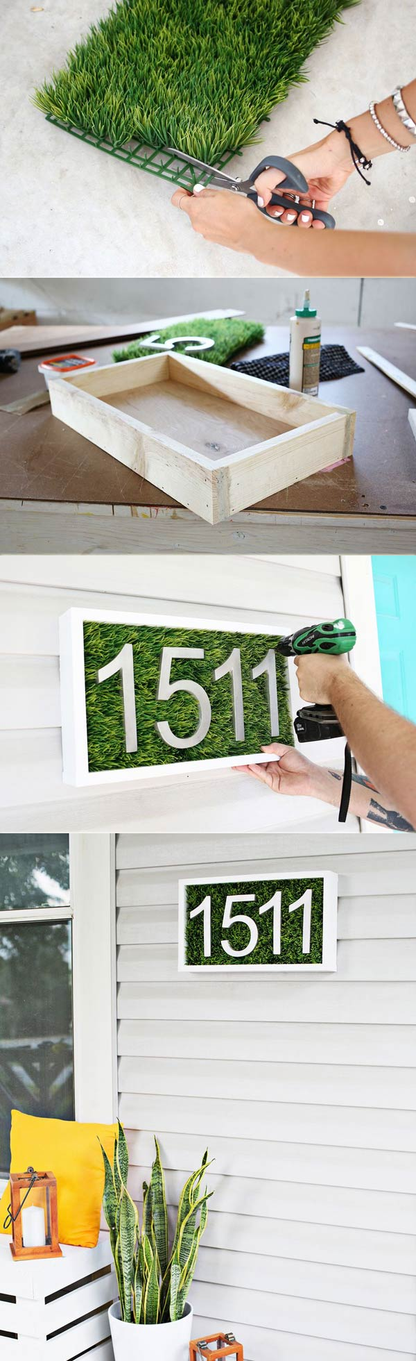 Living house number box