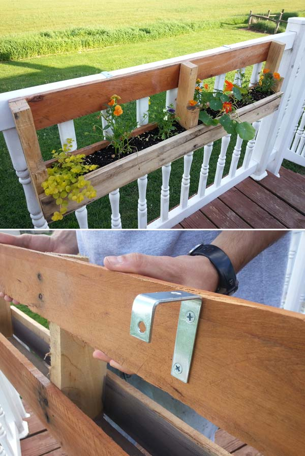 Home Made Wooden Planters