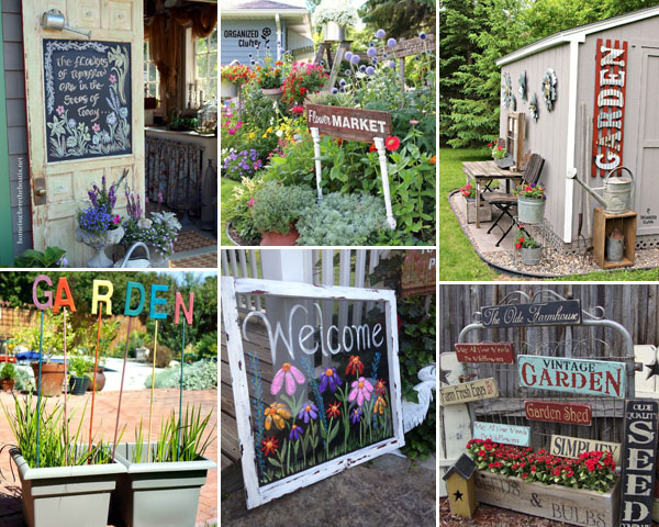 Lovely Garden Sign Ideas You Will Admire