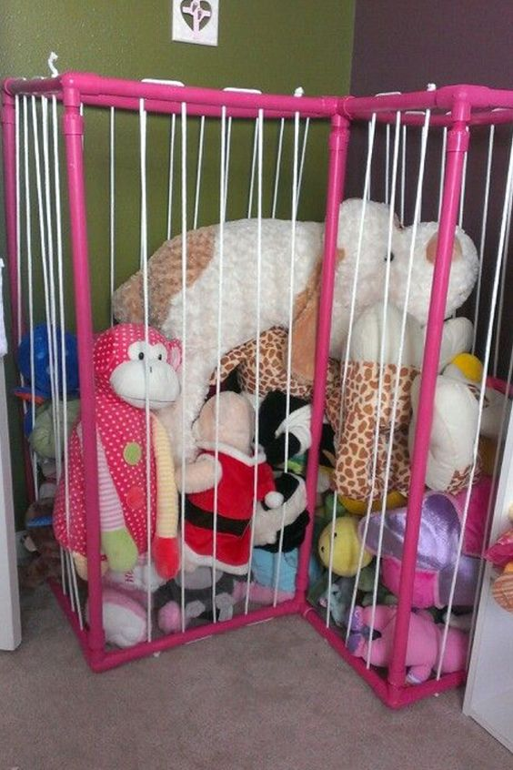 Stuffed Animal Toy Storage: The Most 31 Cool Stuffed Animal Storage Ideas To Inspire
