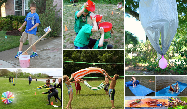 15 Backyard Water Games Kids Love To Play This Summer