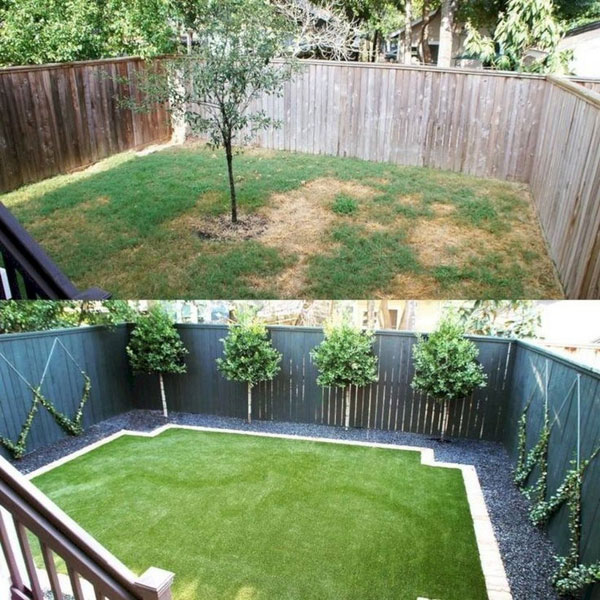 22 Amazing Backyard Landscaping Design Ideas On A Budget ... on Affordable Backyard Ideas id=85297