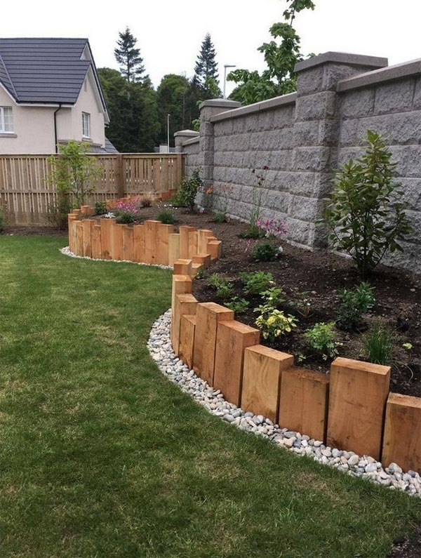 22 Amazing Backyard Landscaping Design Ideas On A Budget ... on Cheap Diy Backyard Landscaping Ideas id=46385