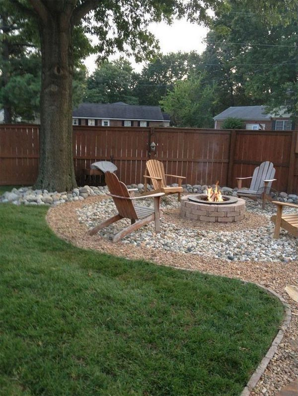 22 Amazing Backyard Landscaping Design Ideas On A Budget ... on Backyard Landscaping Ideas With Trees id=37076
