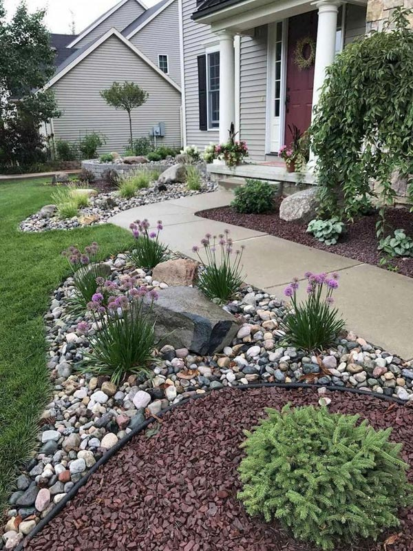 22 Amazing Backyard Landscaping Design Ideas On A Budget ... on Backyard Landscaping Ideas On A Budget  id=61243