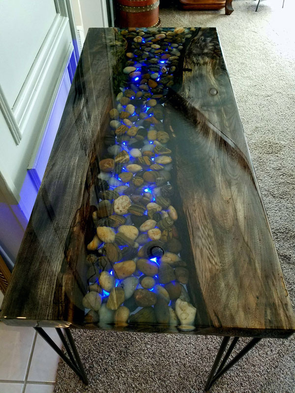The Most Fabulous 15 Epoxy Resin Wood Tables Amazing Diy