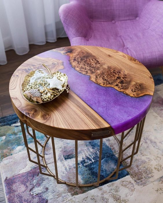 The Most Fabulous 15 Epoxy Resin Wood Tables