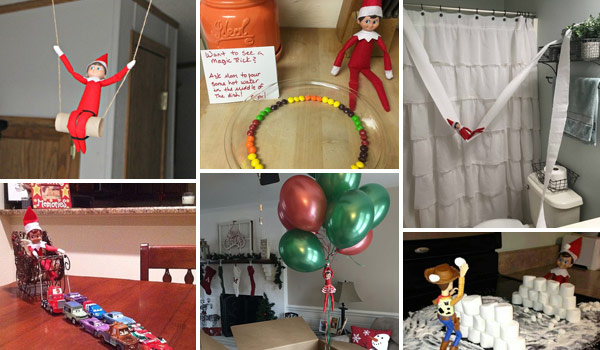 27 Easy But Different Elf on the Shelf Ideas Toddlers Will Adore