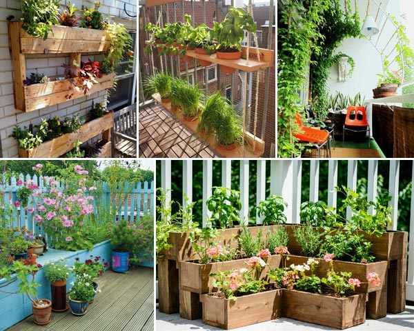 12 Tiny Garden Ideas to Dress Up Your Balcony