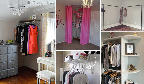 12 Brilliant Ways To Create A Diy Corner Closet