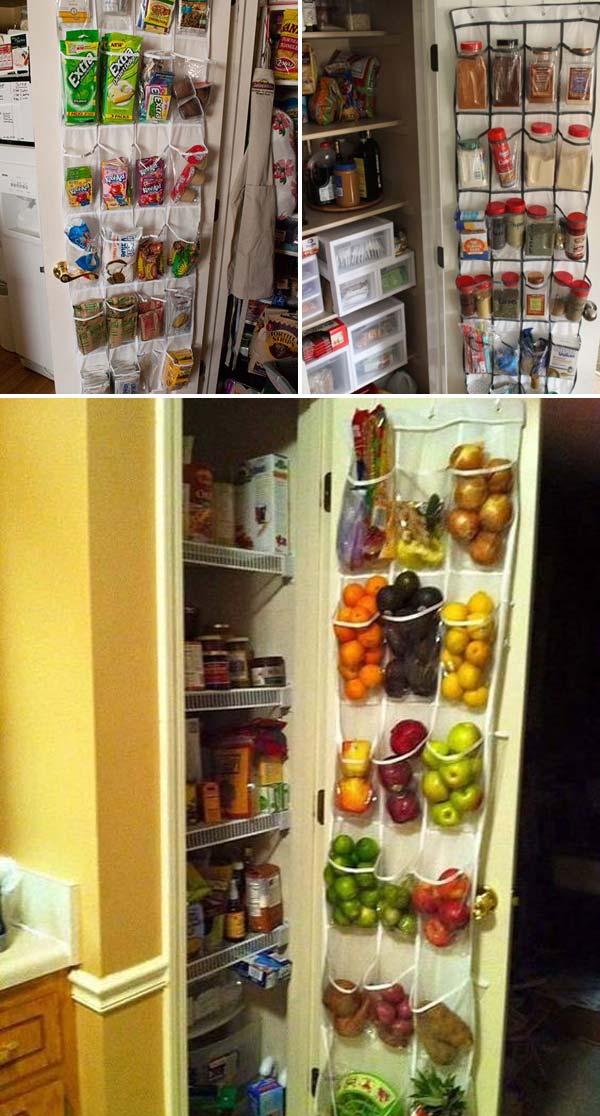 pantry storage with shoe organizer