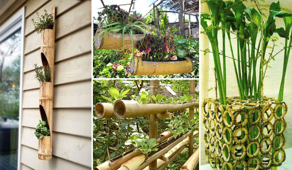 15 The Most Creative Planters Made Out Of Bamboo