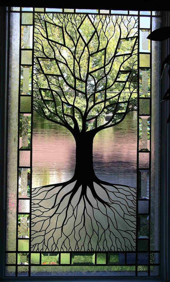 15 Stunning Diy Stained Glass Projects