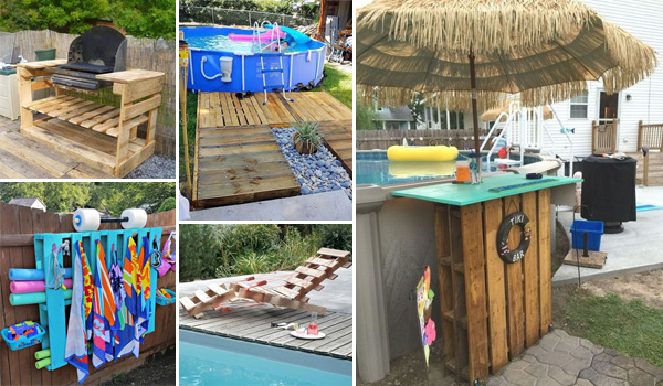 DIY Pool-Side Pallet Projects for Perfect Summer Entertaining