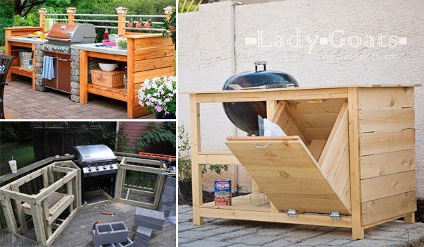 DIY Grill Station Ideas to Make Your Grilling Easier