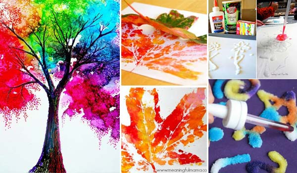 20 Easy Creative Painting Hacks For Kids