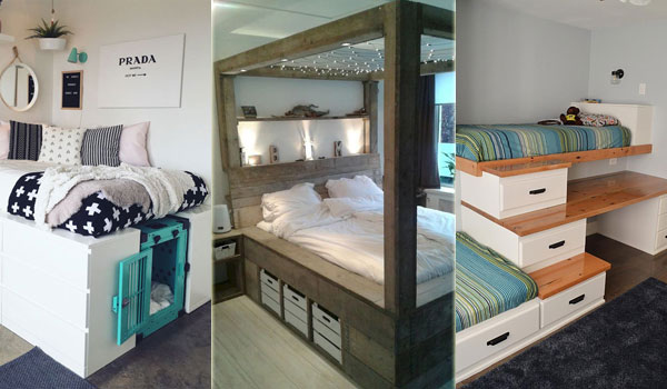 15 Cool Storage Bed Ideas for People Who Lack Closet Space