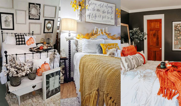 Best 38 Fall Bedroom Decor Ideas To Inspire You