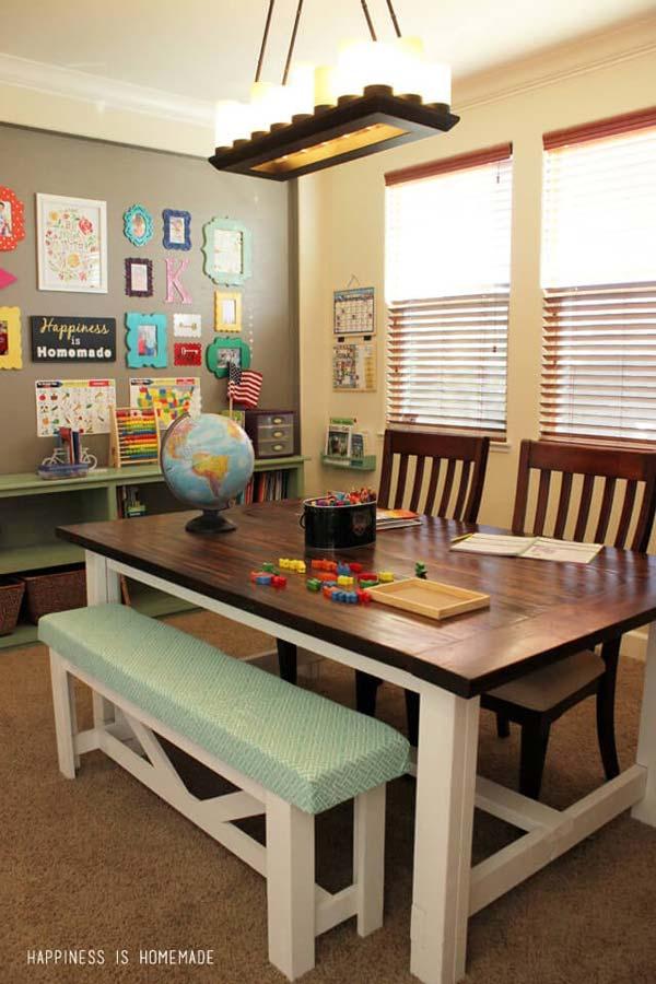 Big Kid Homework Hangout