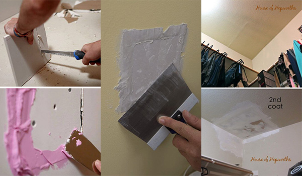 10 Clever Drywall Repair Ways to Fix Holes