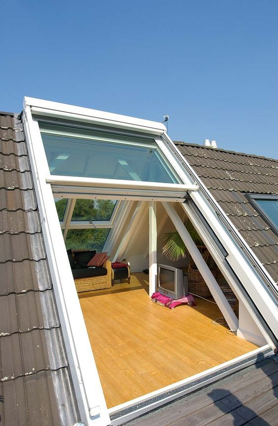 Sliding Door to Roof Terrace