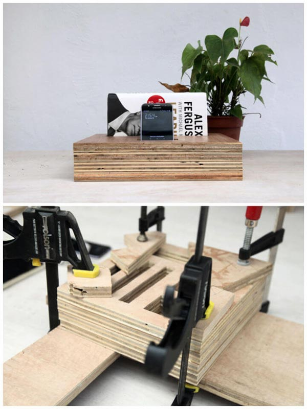 DIY ORGANIZATION BLOKS MADE OUT OF PLYWOOD