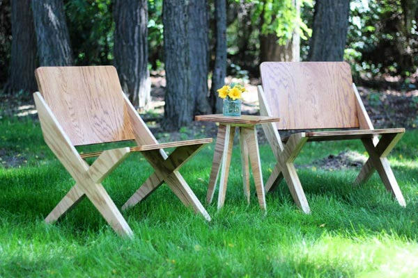 DIY Plywood Chairs