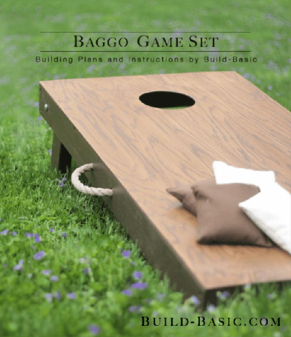 Plywood Baggo Game
